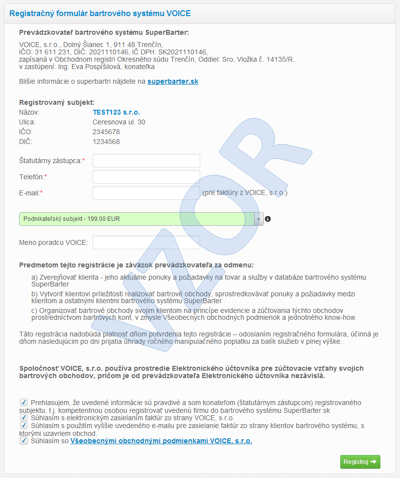 Superbarter.sk - Registrácia SUPERBARTER dc3b0de7815